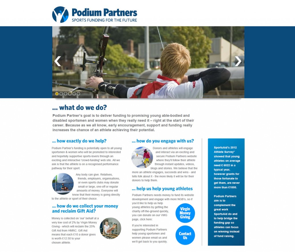 Podium Partners - go-to-'market', branding, content and website